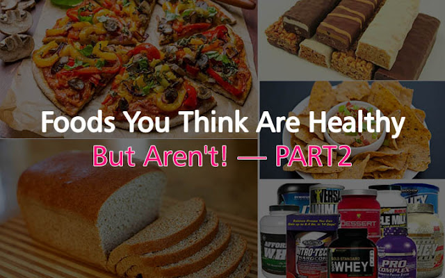 foods we thought were healthy but aren't womenyeah