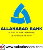 Note: Allahabad Bank Recruitment 2019 | Specialist Officer | (Vacancy 92 ) | Apply Online | Last Date: 29-04-2019 | SAKORI ASSAM