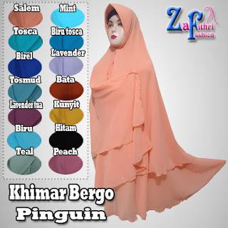 Khimar-bergo-pinguin-bahan-sifon-ceruti
