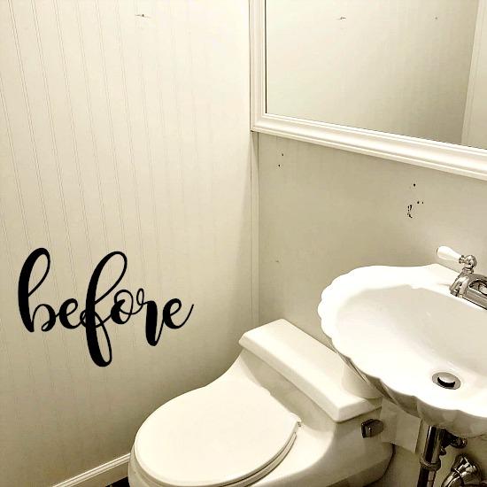 Renovating a Tiny Bathroom in Farmhouse Style