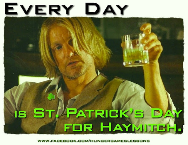Every Day is St. Patrick's Day for Haymitch: Exploring Heritage in The Hunger Games Trilogy