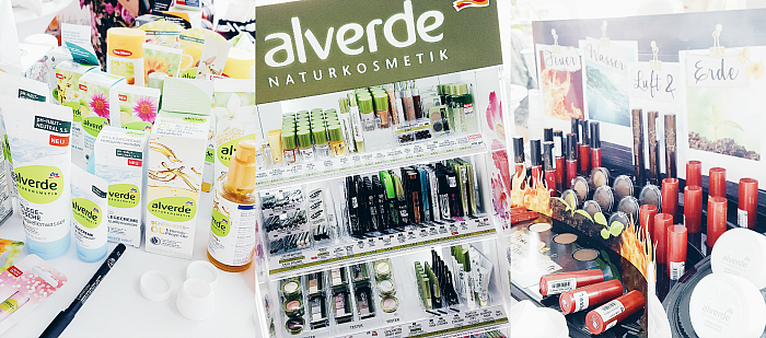 Beautypress Blogger Event Köln 2016 - alverde Sortiment & Limited Edition