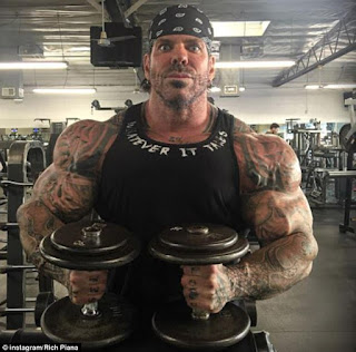 Rich Piana the legend of the bodybuilding dead after entering into a coma