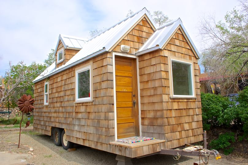 Tiny House Town Cedar Shake Tiny House 300 Sq Ft