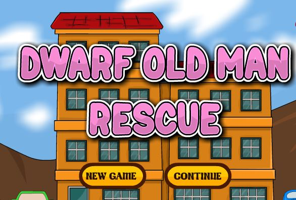 Dwarf Old Man Rescue Walk…