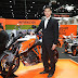 "KTM gives adrenaline express of ultimate sports tourer as company unveils its year-end highlight ""1290 Super Duke GT"" at 33rd Motor Expo"