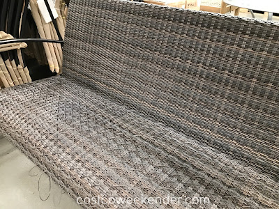 Costco 1500036 - Agio Eastport Woven Swing: great for any backyard or patio