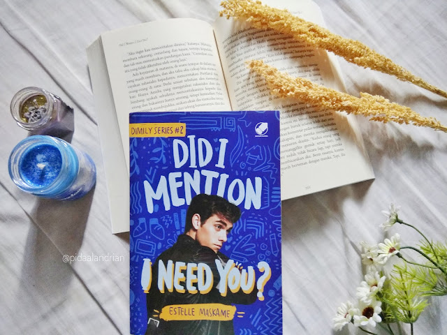 Book Review Did I Mention I Need You? - Estelle Maskame #2