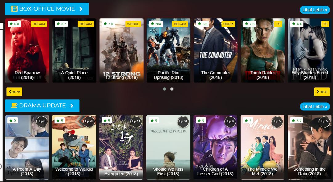 Top 4 Situs Terbaik Nonton Film Subtitle Indonesia Gratis