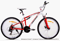 Sepeda Gunung Pacific Alligator Full Suspension 26 Inci
