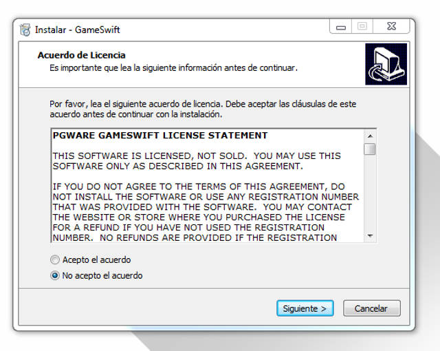 PGWare GameSwift 2.1 Full