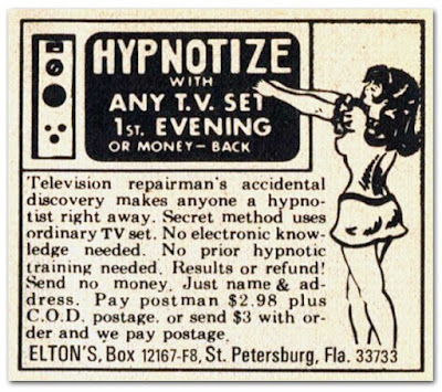 Hypnotize with any TV set