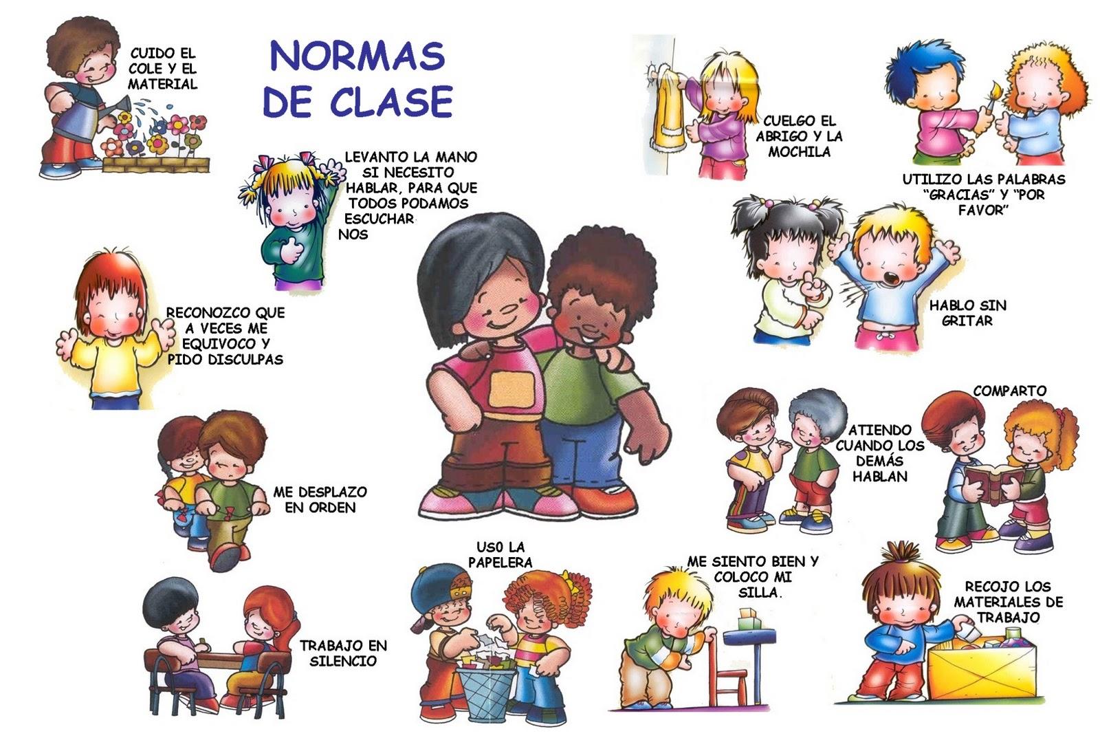 Mica c mo se construyen las normas y los valores en la for Normas para el comedor escolar