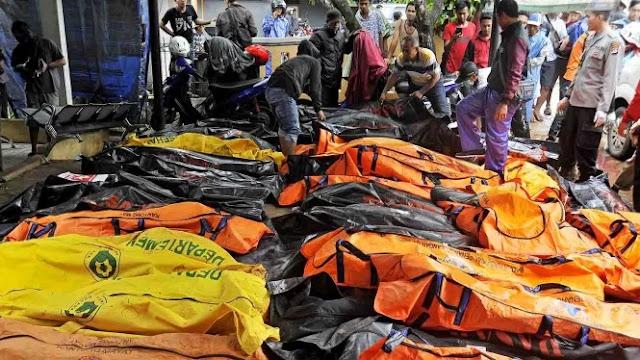 Update Korban Tsunami Selat Sunda, BNPB: 437 Orang Meninggal Dunia