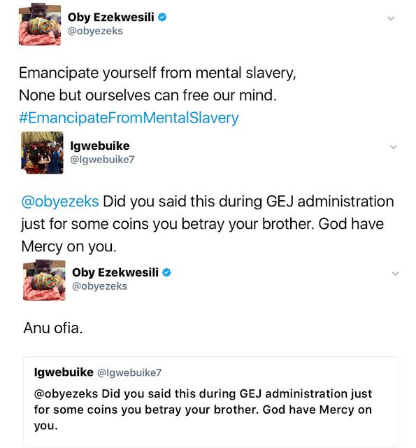 oby tweet