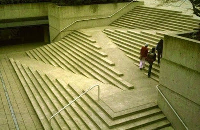 escalera de concreto