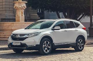 Honda CR-V Hybrid (2019) Front Side