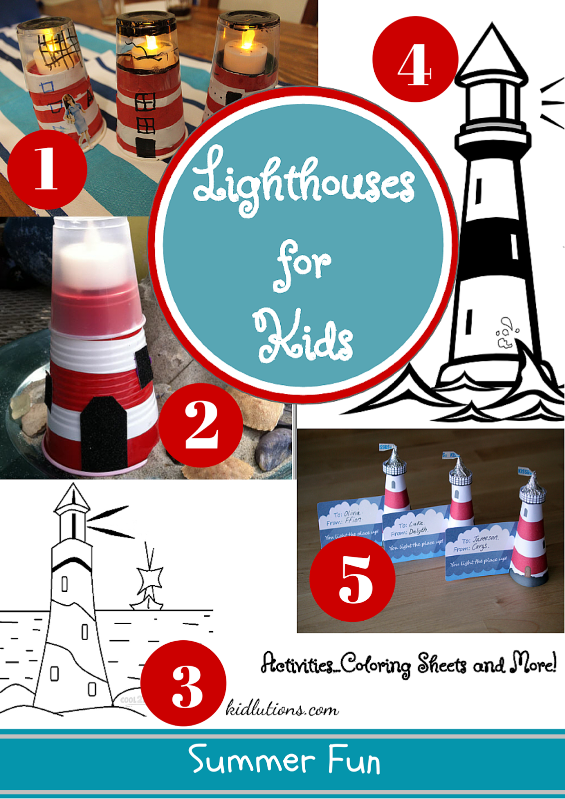 Lighthouse Crafts And Activities For Kids