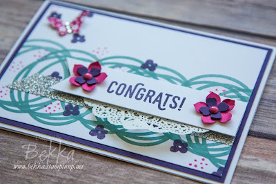 Memories in the Making Congratulations Card by Bekka - get the details and the products here