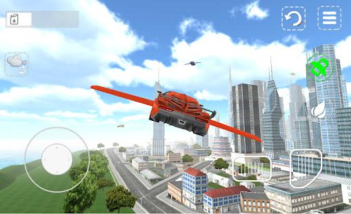 لعبة Flying Car 3D