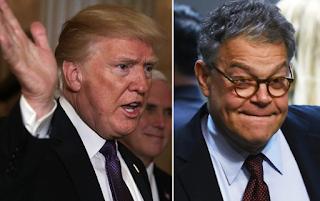 Trump blasts 'Al Frankenstien' on Twitter over alleged groping | New York Post