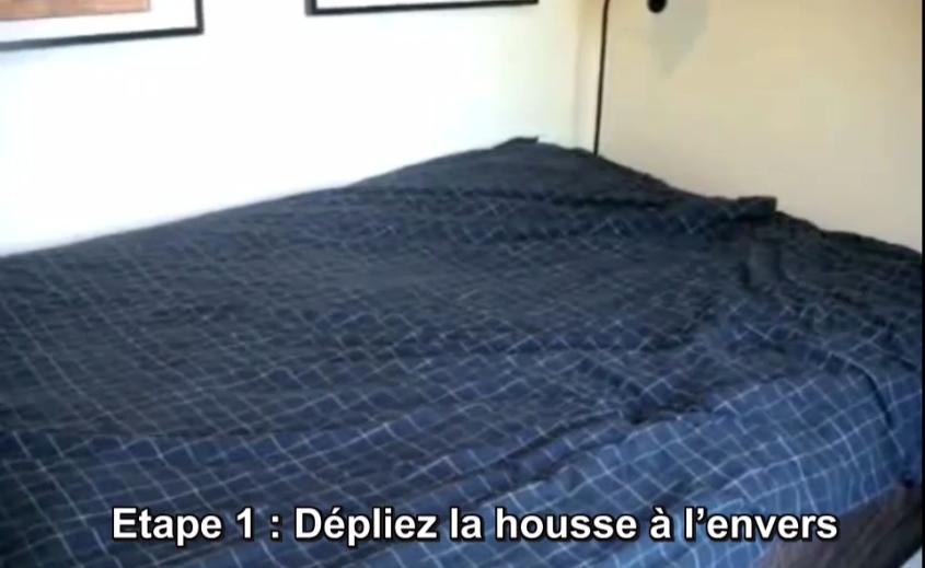 kikiworld mettre votre housse de couette facilement. Black Bedroom Furniture Sets. Home Design Ideas