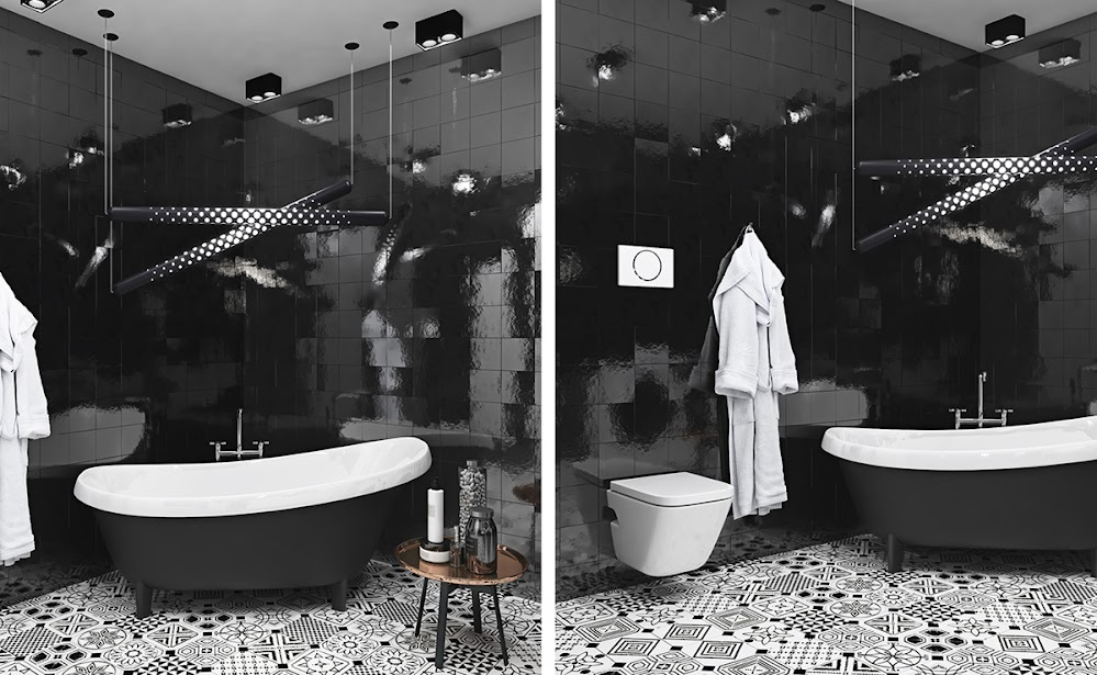 black-tile-bathroom