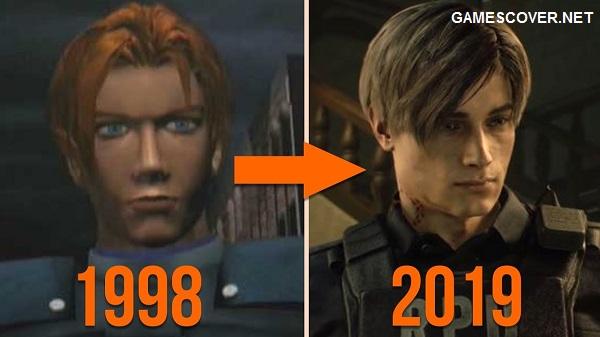 Resident Evil 2 Remake Comparison