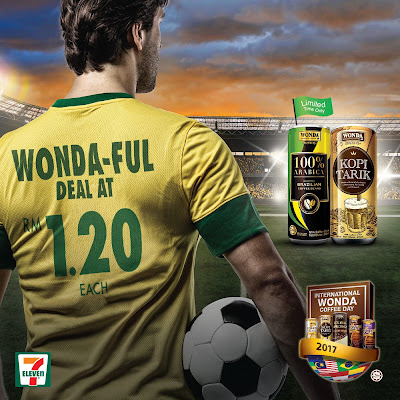 7 Eleven Malaysia WONDA Coffee RM1.20 Discount Offer Promo