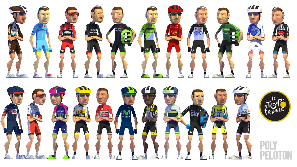 Tour De France Teams