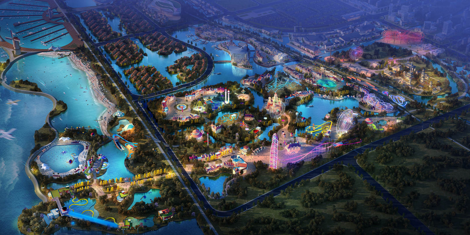Newsplusnotes Three New Concept Parks Announced For