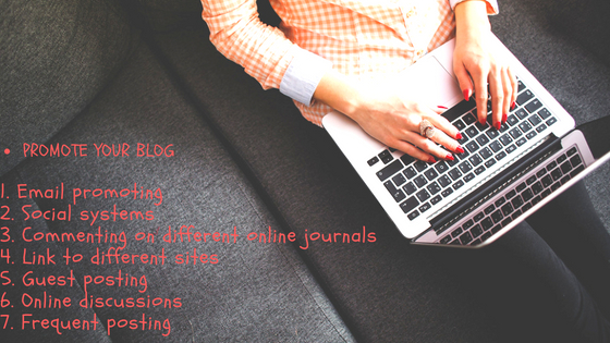Top 7 way to promote your blog