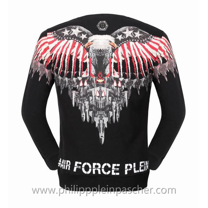 free shipping 26dbb 14842 sweat philipp plein wings eagle noir pour homme 1.jpg