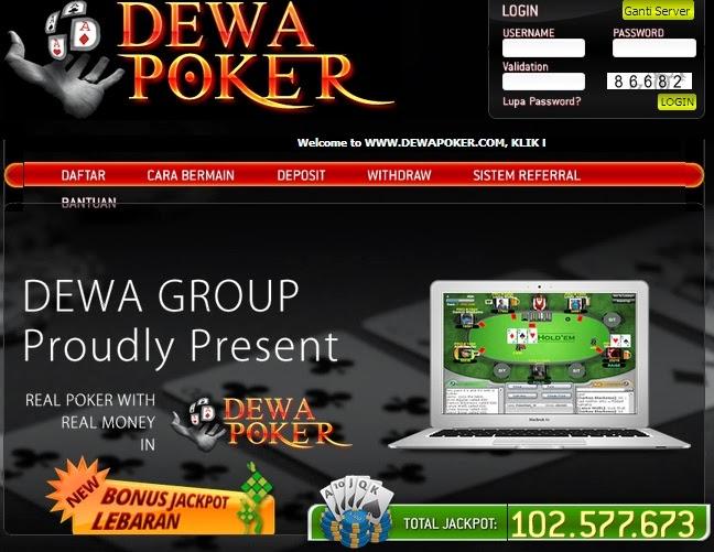 Cara Membuat Akun Dewa Poker ~ Diansickness
