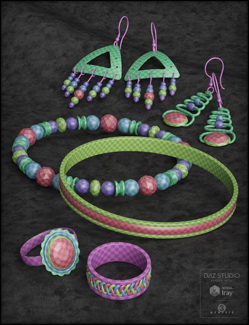 Jewels at Dawn for Genesis 3 Female