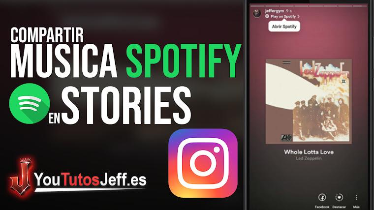 Compartir Canciones de Spotify en Stories de Instagram - Fácil y Rápido