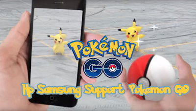 Spesifikasi HP Samsung yang Support Main Pokemon GO