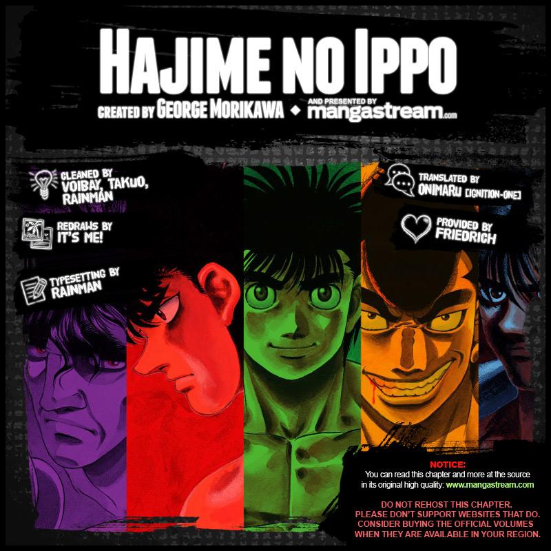 Hajime No Ippo 1169 En
