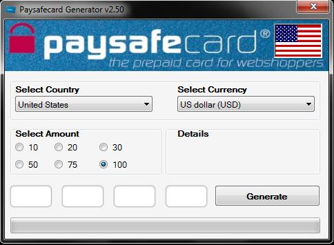 Paysafecard Code 100EUR