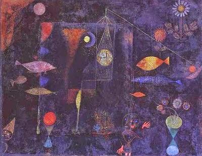 Magia de Peixe - Paul Klee - (Expressionismo) Suíço
