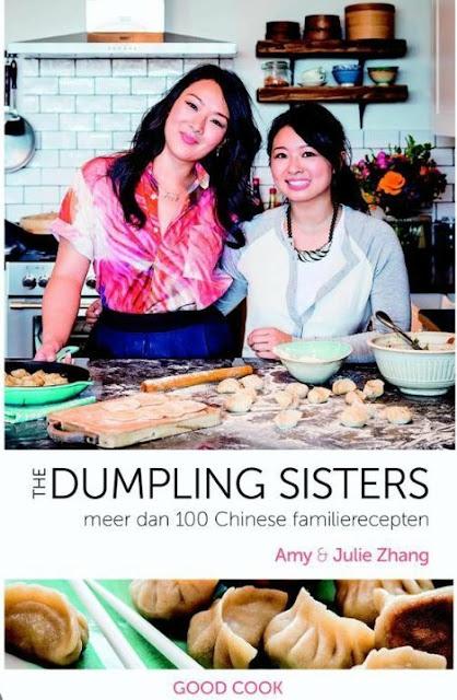 Amie & Julie Zhang op de cover van hun kookboek