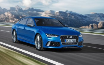 Wallpaper: Audi RS 7 Sportback