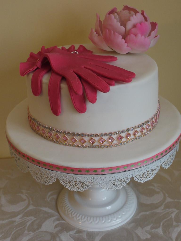 Scrummy Mummy S Cakes Amy 40th Birthday Cake