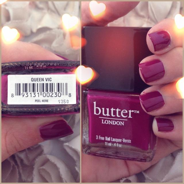 Butter London Queen Vic Eg Nails It