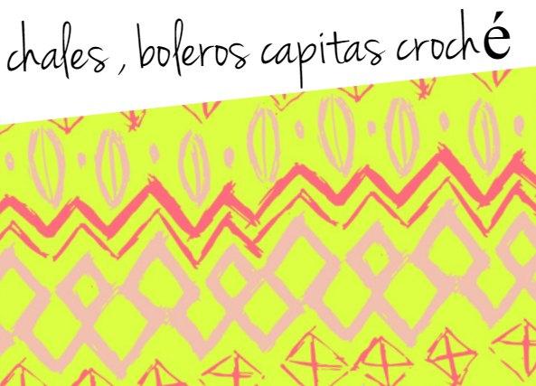 Chal Tiras de Flores Crochet Patron