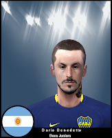 PES 6 Faces Darío Benedetto by NahueLhd