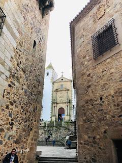 Calleja estrecha del centro histórico