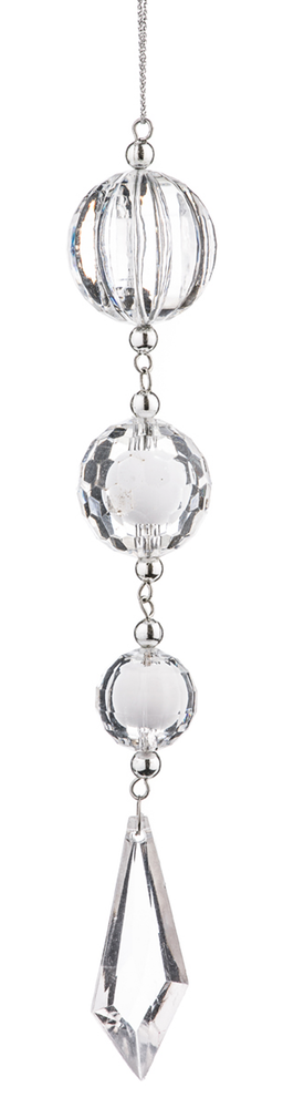 BOWRING ICE BALL DROP ORNAMENT
