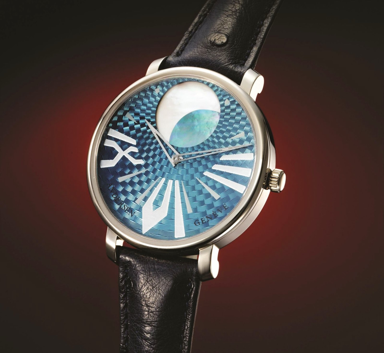 Anderesen Geneve Kamar - Classic Moonphase Watch