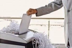 Cần giữ gìn vệ sinh máy hủy giấy thật tốt